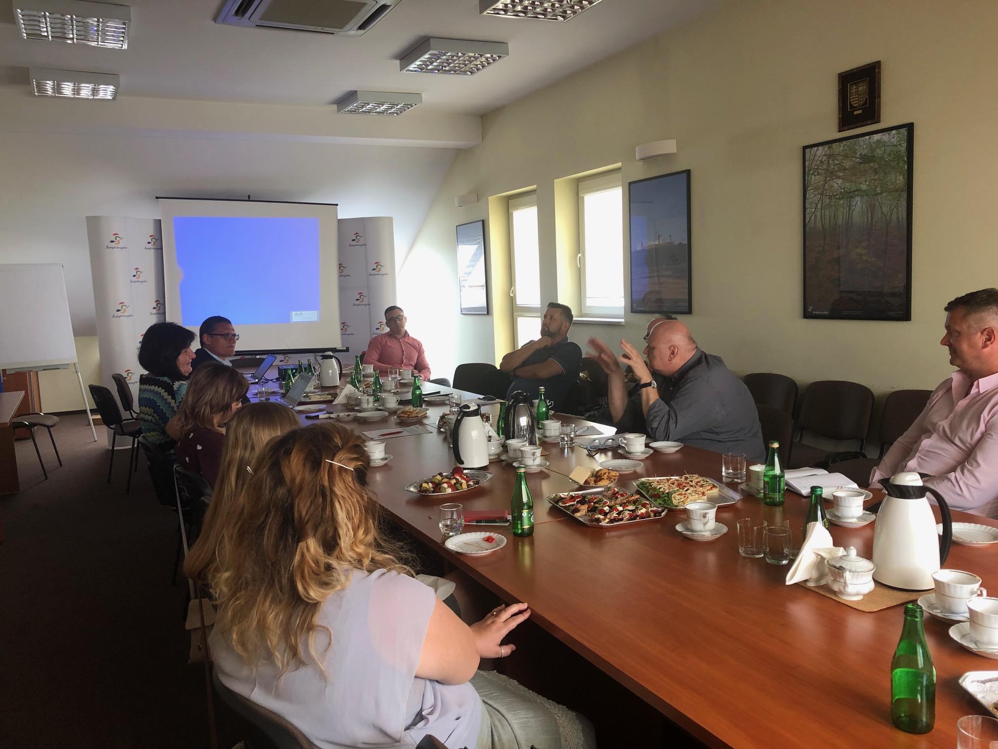 Posiedzenie Regionalnej Sieci Reintegracji w woj. Świętokrzyskim